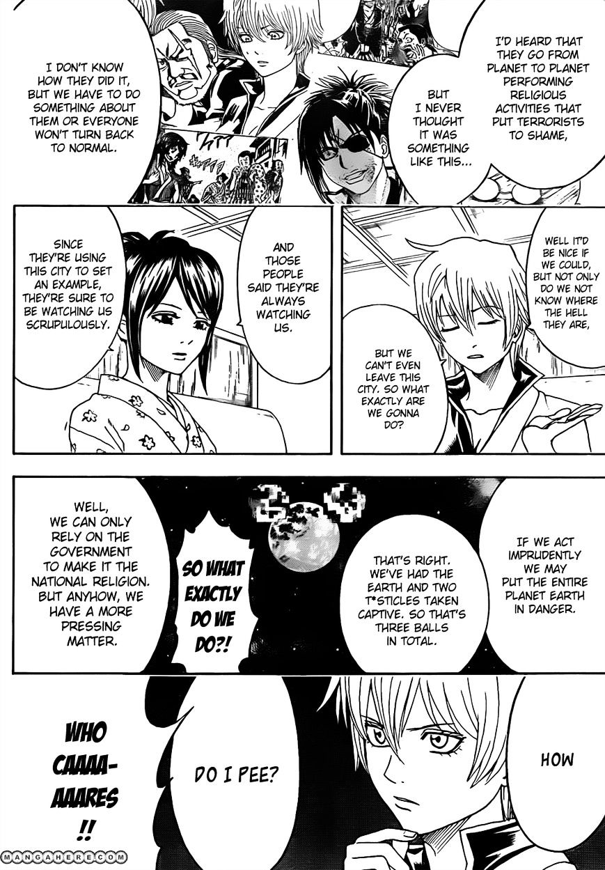 Gintama Chapter 438  Online Free Manga Read Image 12