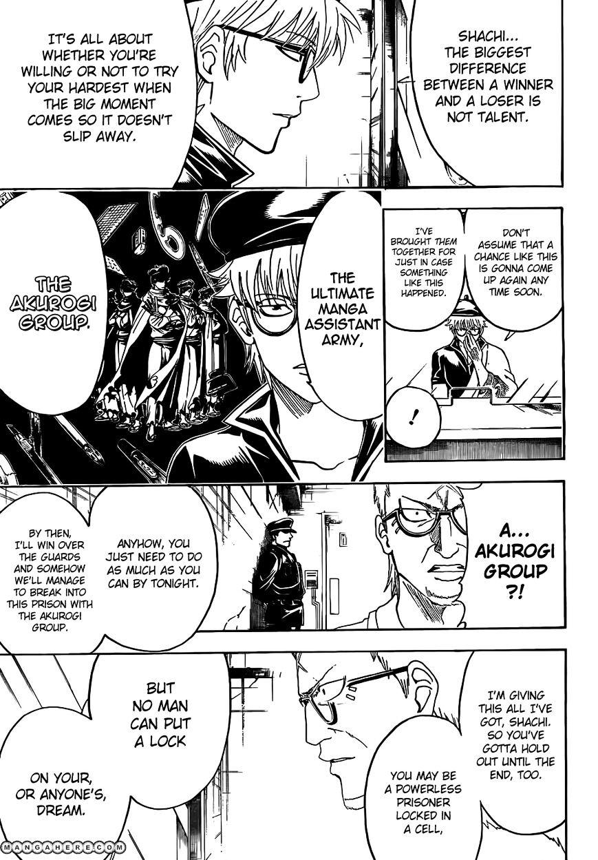 Gintama Chapter 442  Online Free Manga Read Image 3