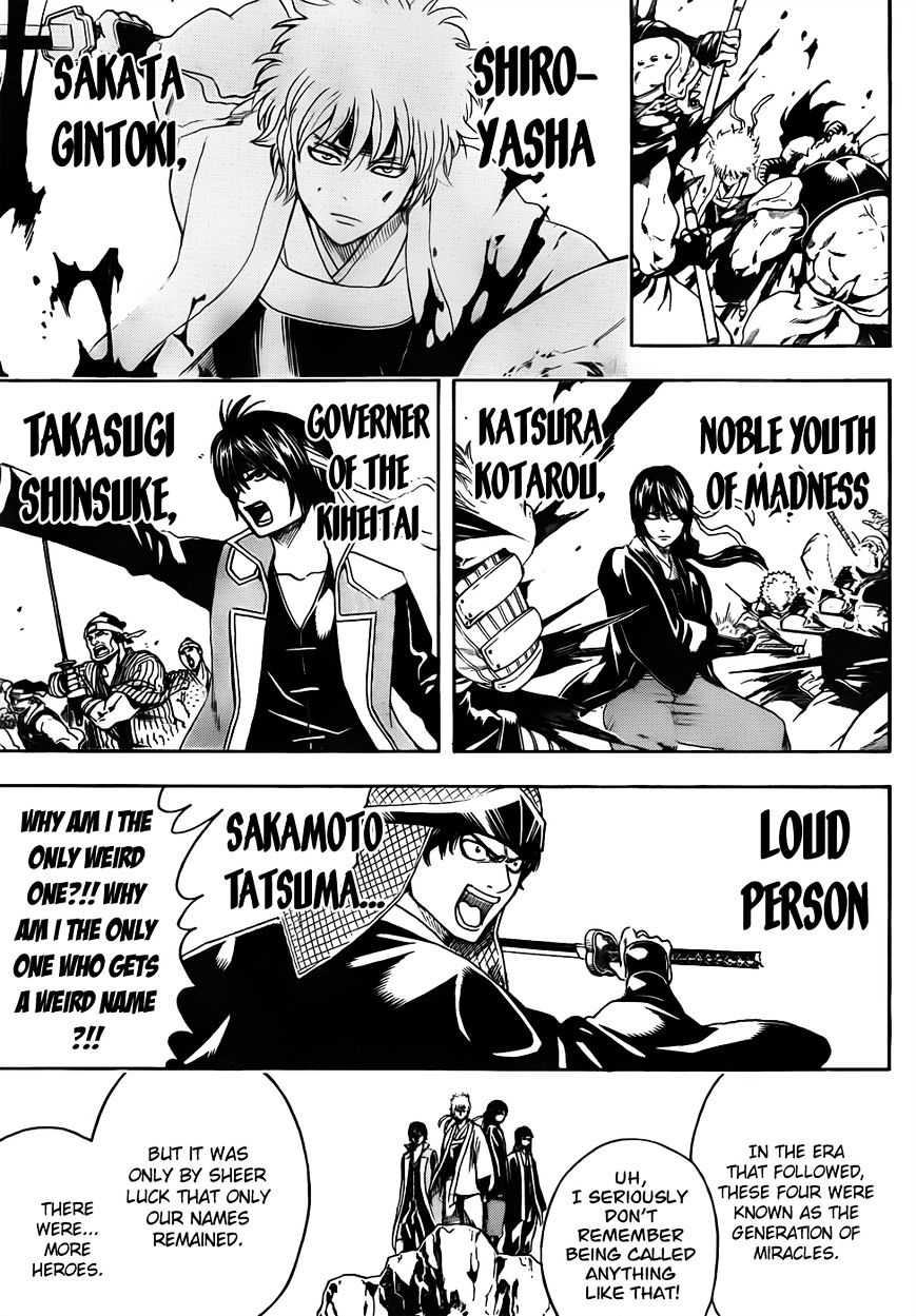 Gintama Chapter 452  Online Free Manga Read Image 7
