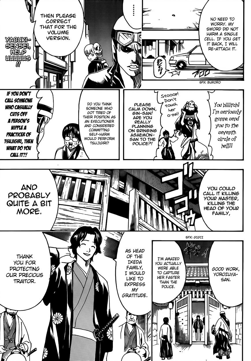 Gintama Chapter 464  Online Free Manga Read Image 7