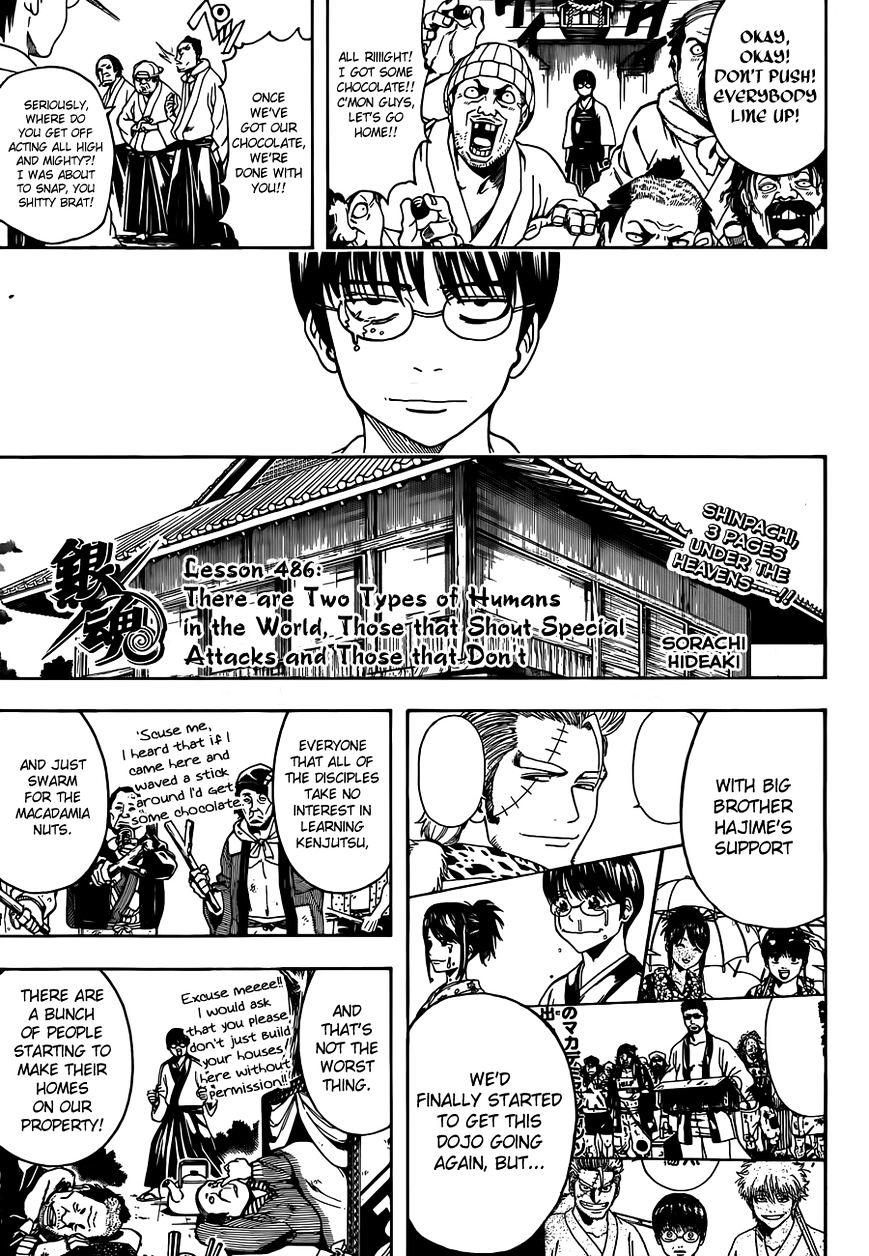 Gintama Chapter 486  Online Free Manga Read Image 3