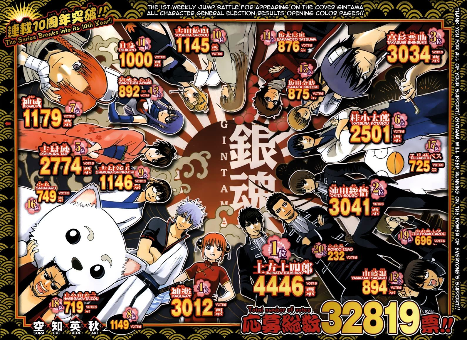 Gintama Chapter 490  Online Free Manga Read Image 2