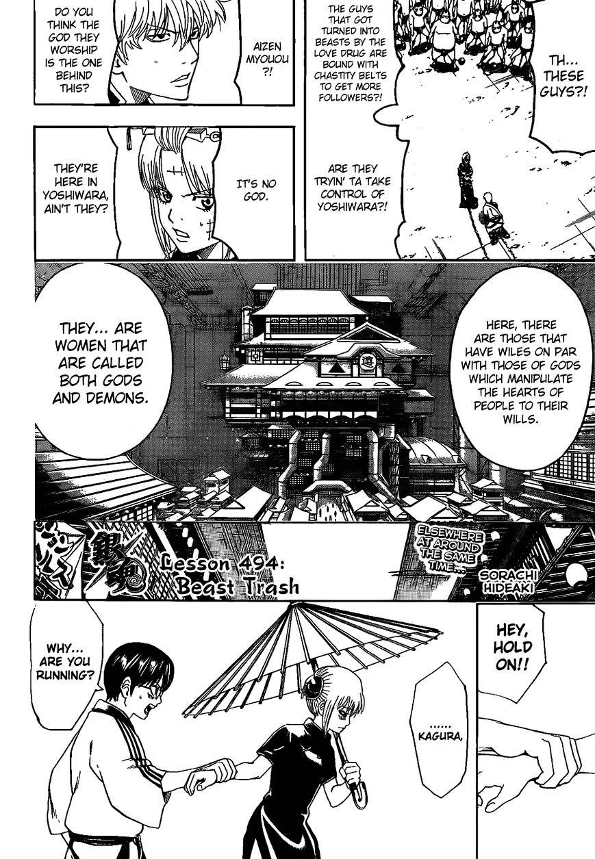 Gintama Chapter 494  Online Free Manga Read Image 6