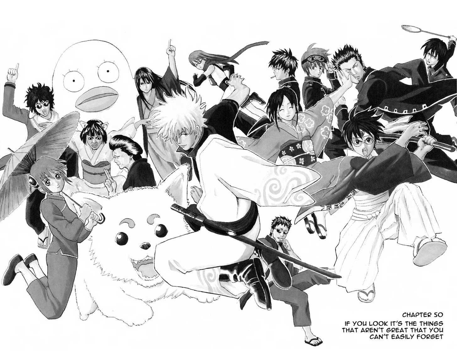 Gintama Chapter 50  Online Free Manga Read Image 6