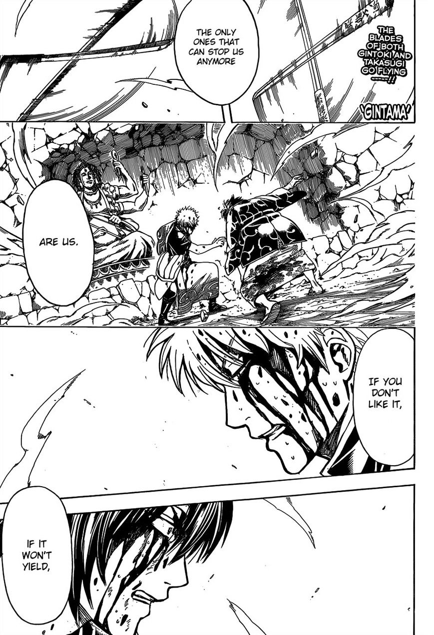 Gintama Chapter 519  Online Free Manga Read Image 1