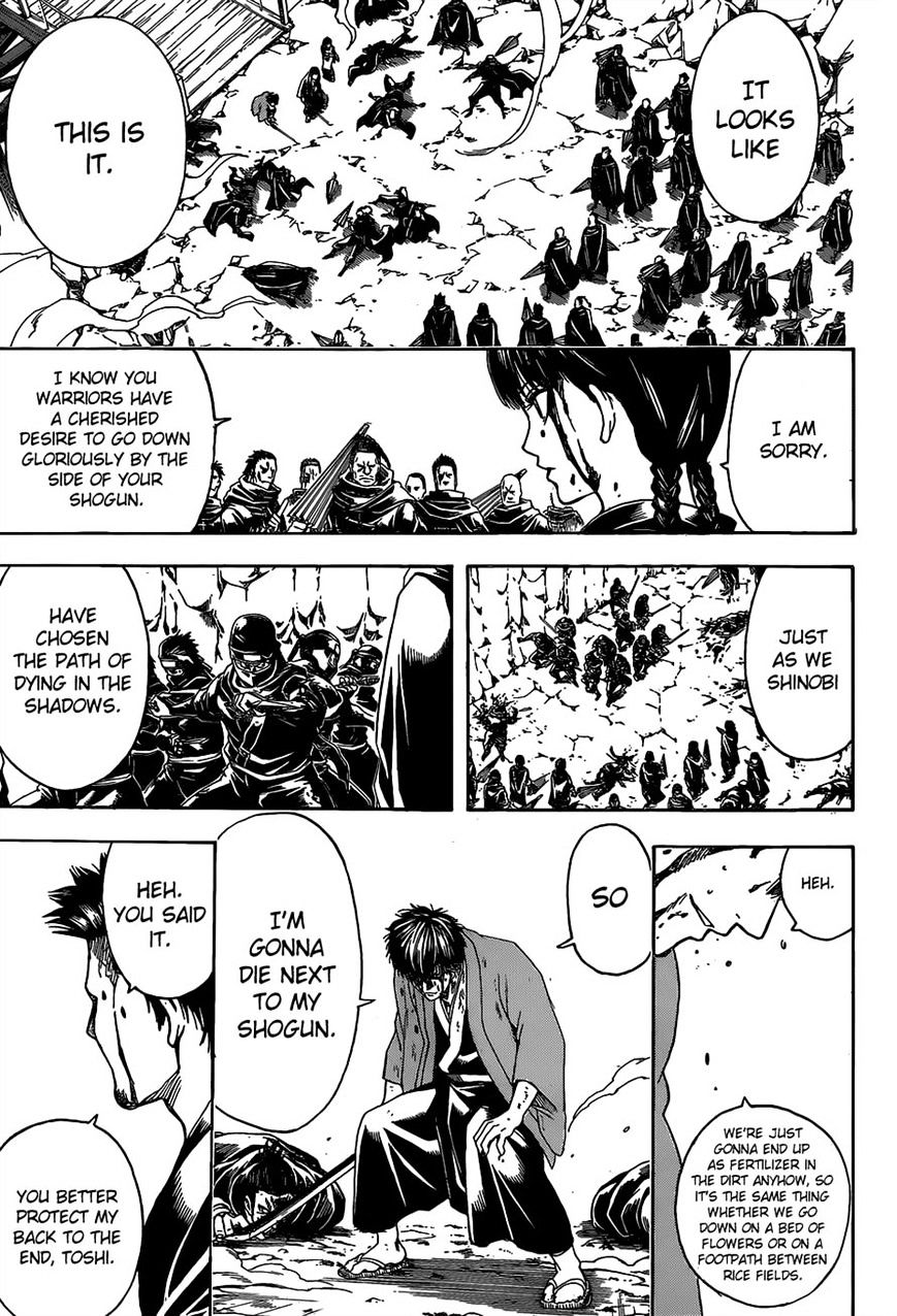 Gintama Chapter 521  Online Free Manga Read Image 11