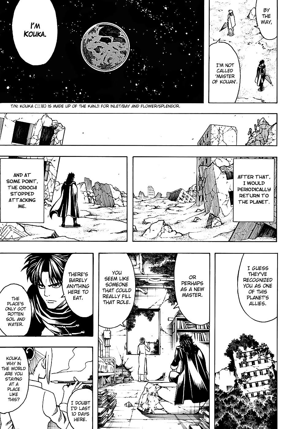Gintama Chapter 579  Online Free Manga Read Image 11