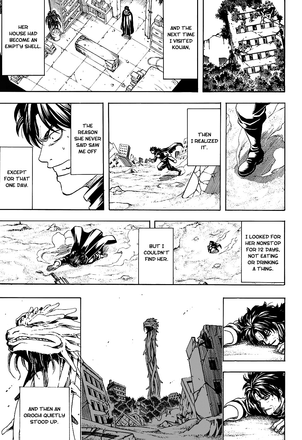Gintama Chapter 579  Online Free Manga Read Image 17