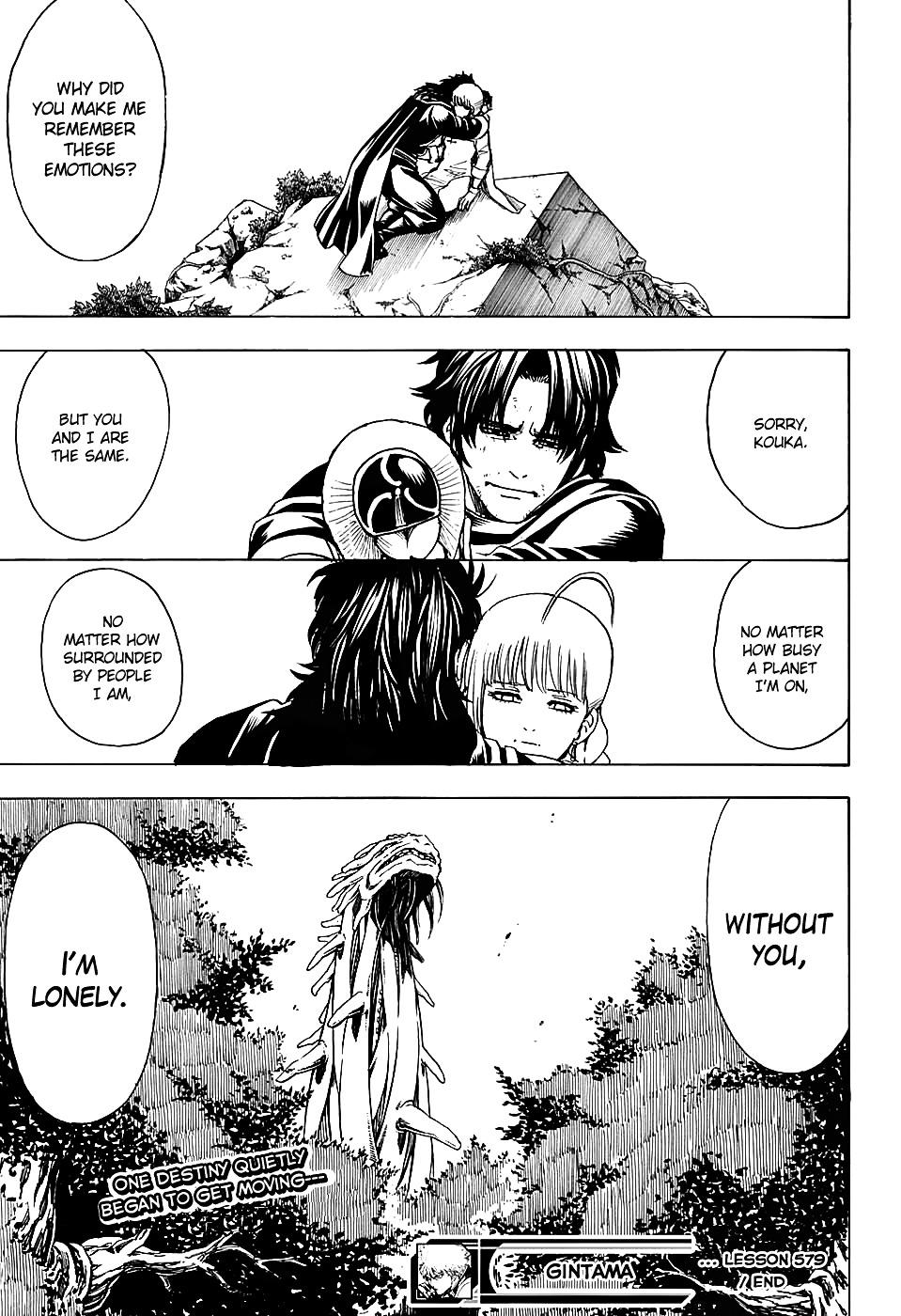 Gintama Chapter 579  Online Free Manga Read Image 19