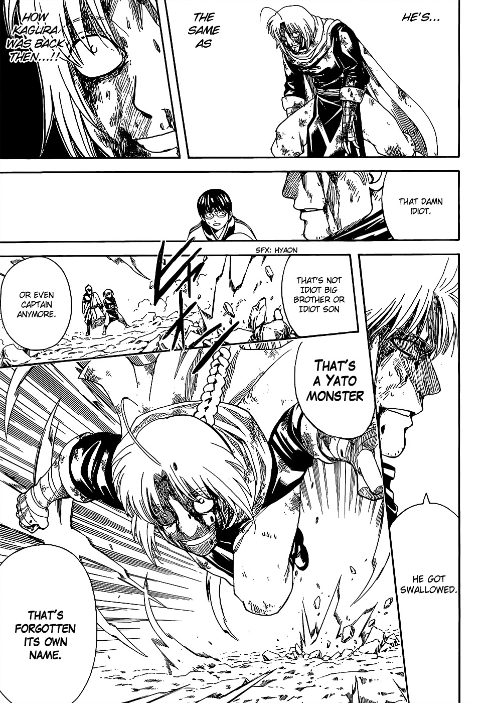 Gintama Chapter 587  Online Free Manga Read Image 3