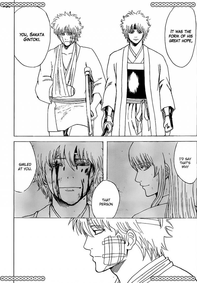 Gintama Chapter 595  Online Free Manga Read Image 12