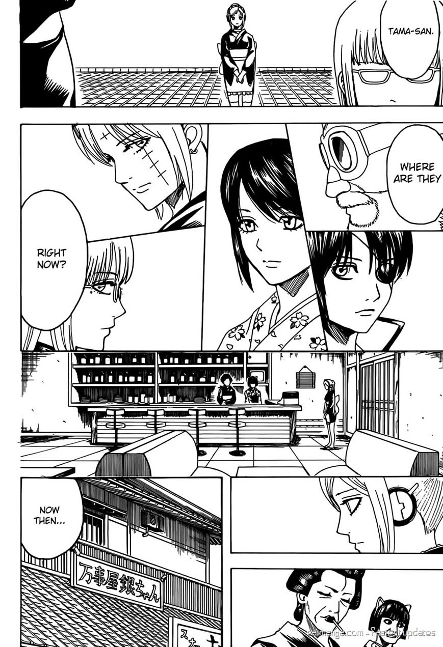Gintama Chapter 596  Online Free Manga Read Image 12