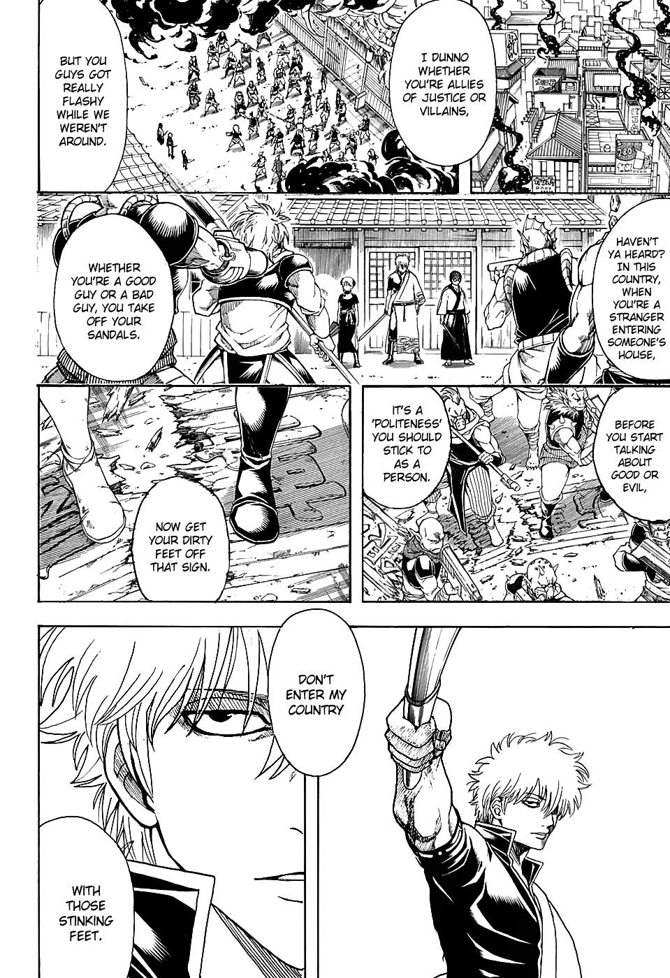 Gintama Chapter 598  Online Free Manga Read Image 4