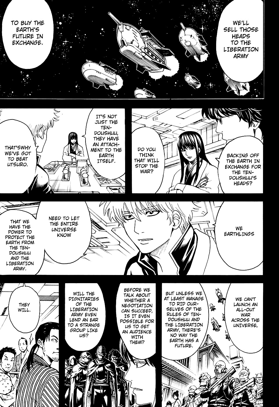 Gintama Chapter 599  Online Free Manga Read Image 5