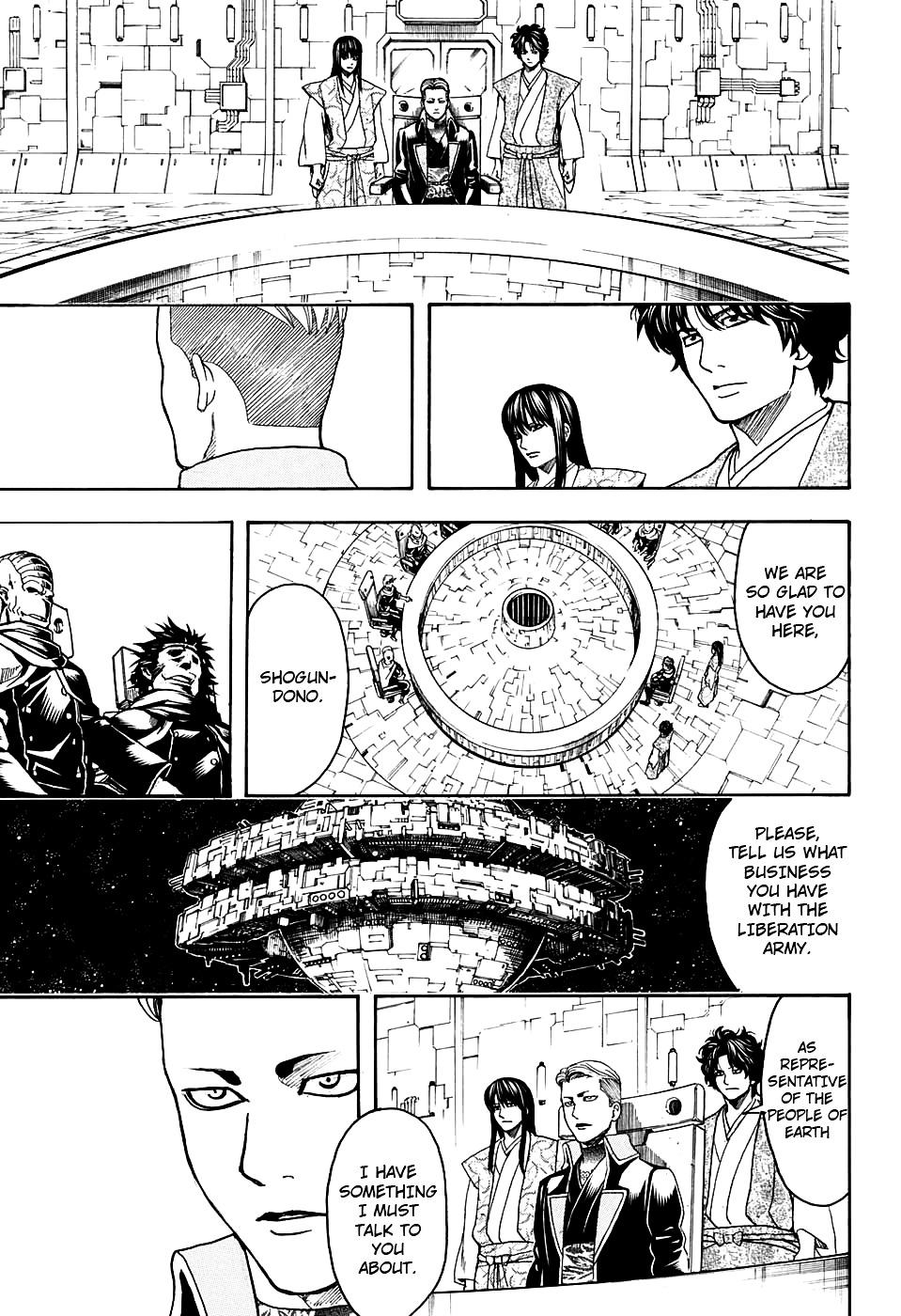 Gintama Chapter 599  Online Free Manga Read Image 9