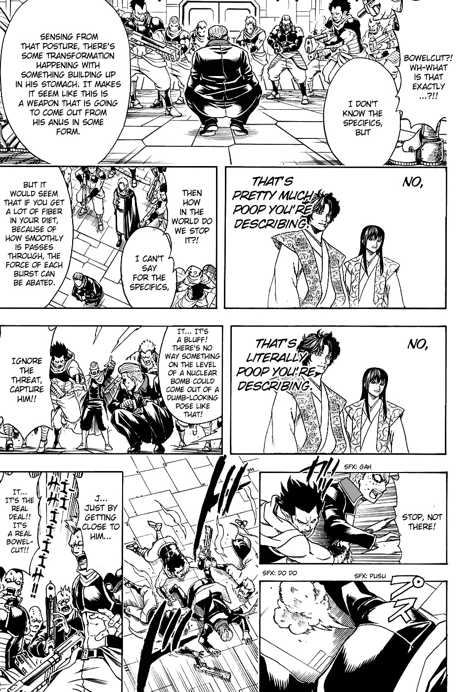 Gintama Chapter 600  Online Free Manga Read Image 11