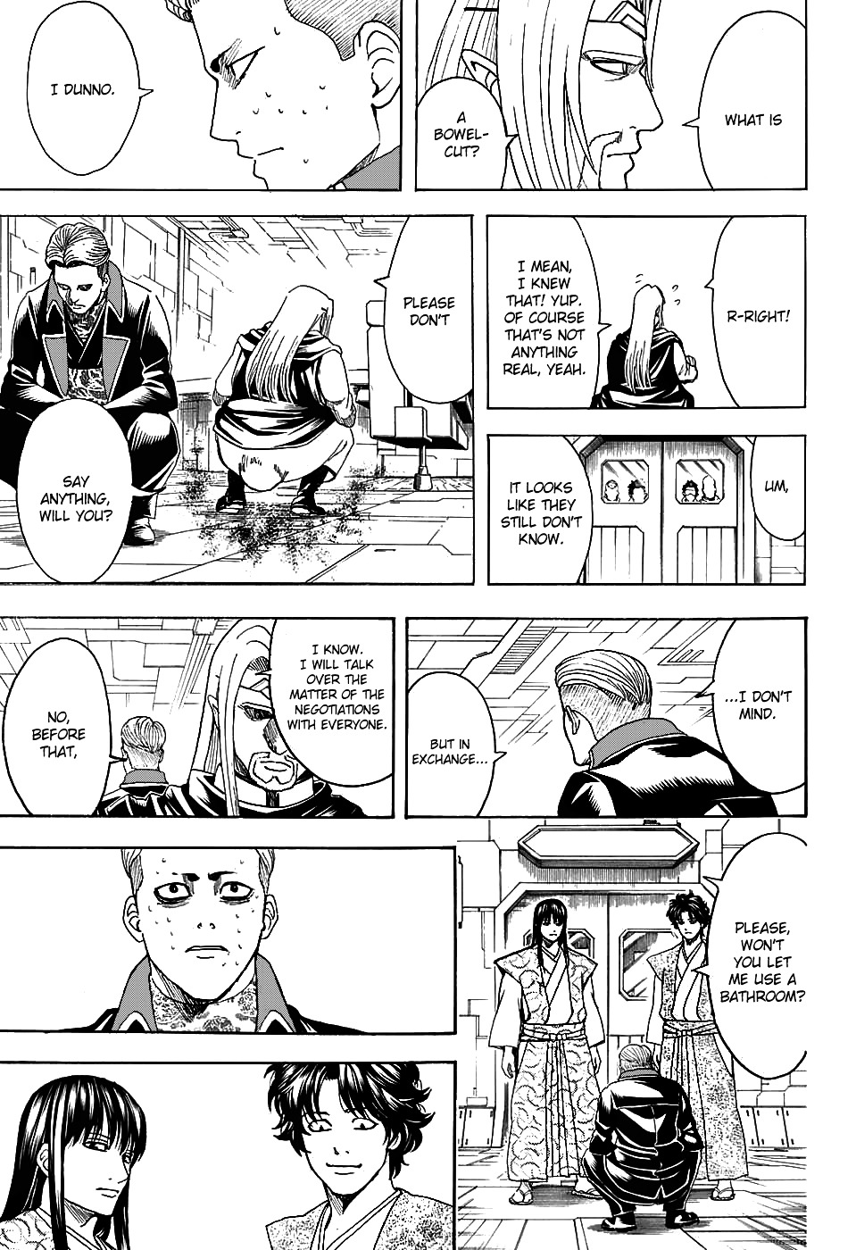 Gintama Chapter 600  Online Free Manga Read Image 15