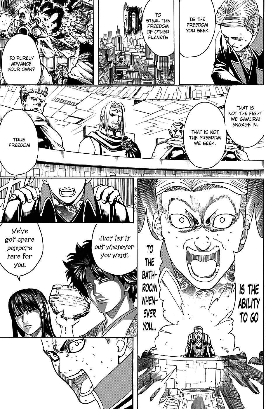 Gintama Chapter 600  Online Free Manga Read Image 5