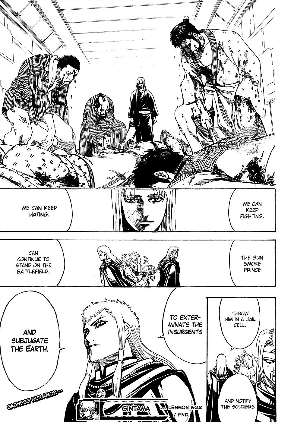 Gintama Chapter 602  Online Free Manga Read Image 19