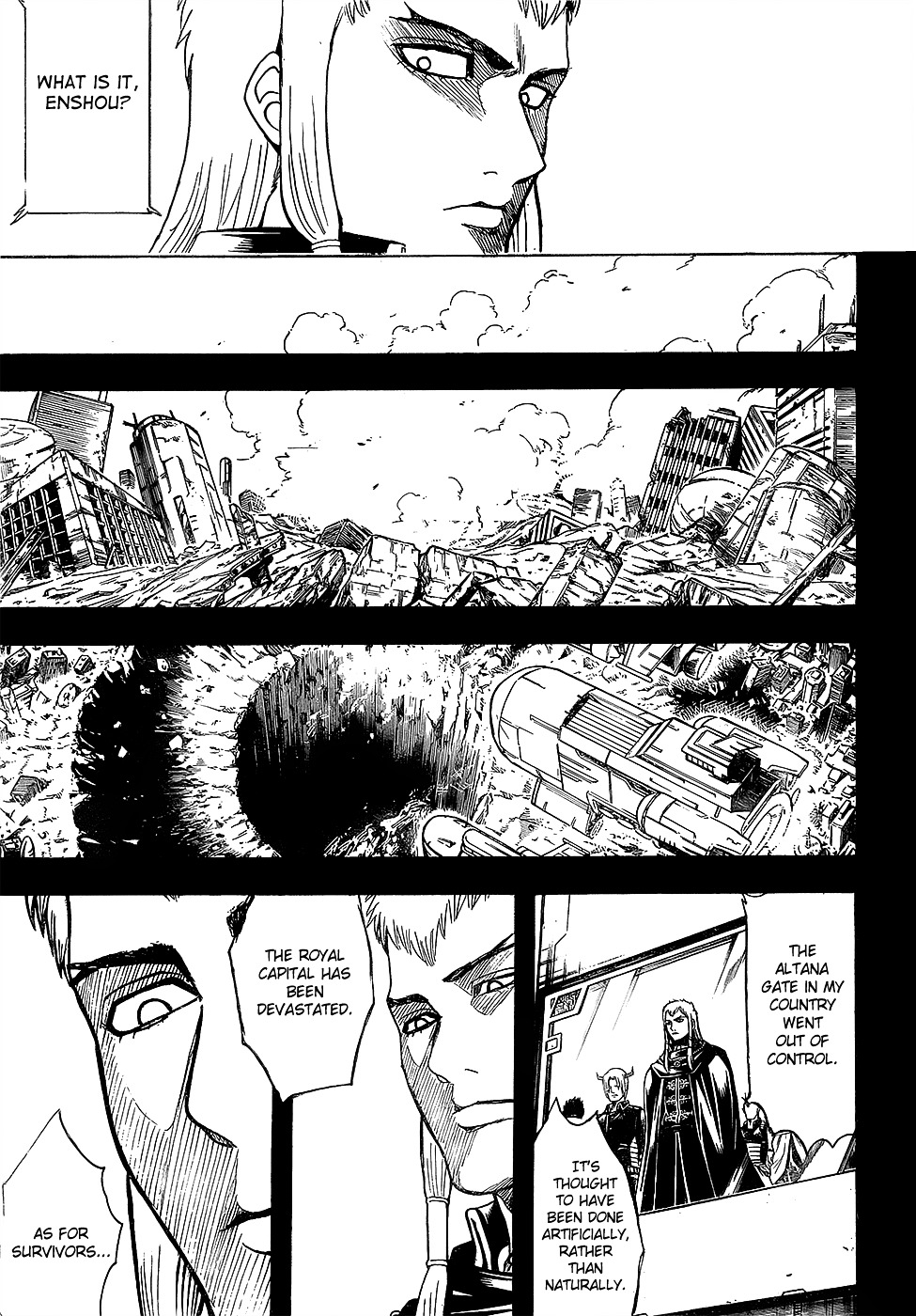 Gintama Chapter 602  Online Free Manga Read Image 3