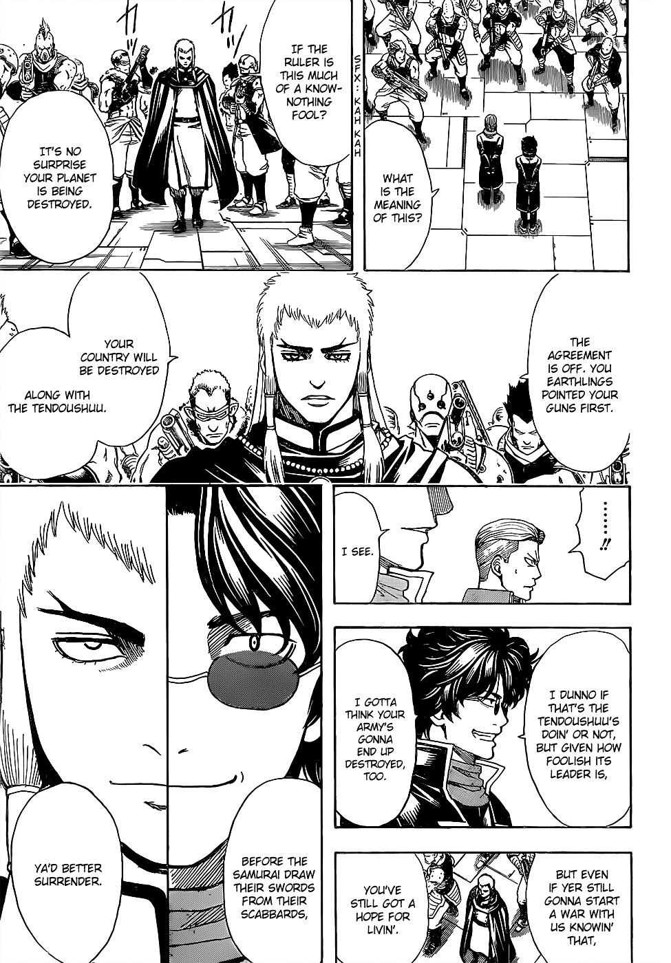 Gintama Chapter 603  Online Free Manga Read Image 13