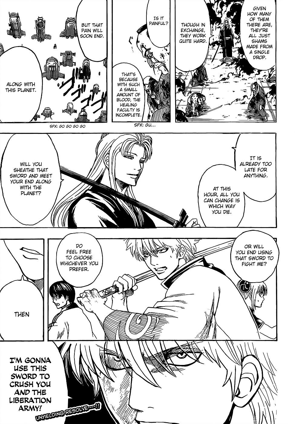 Gintama Chapter 603  Online Free Manga Read Image 17