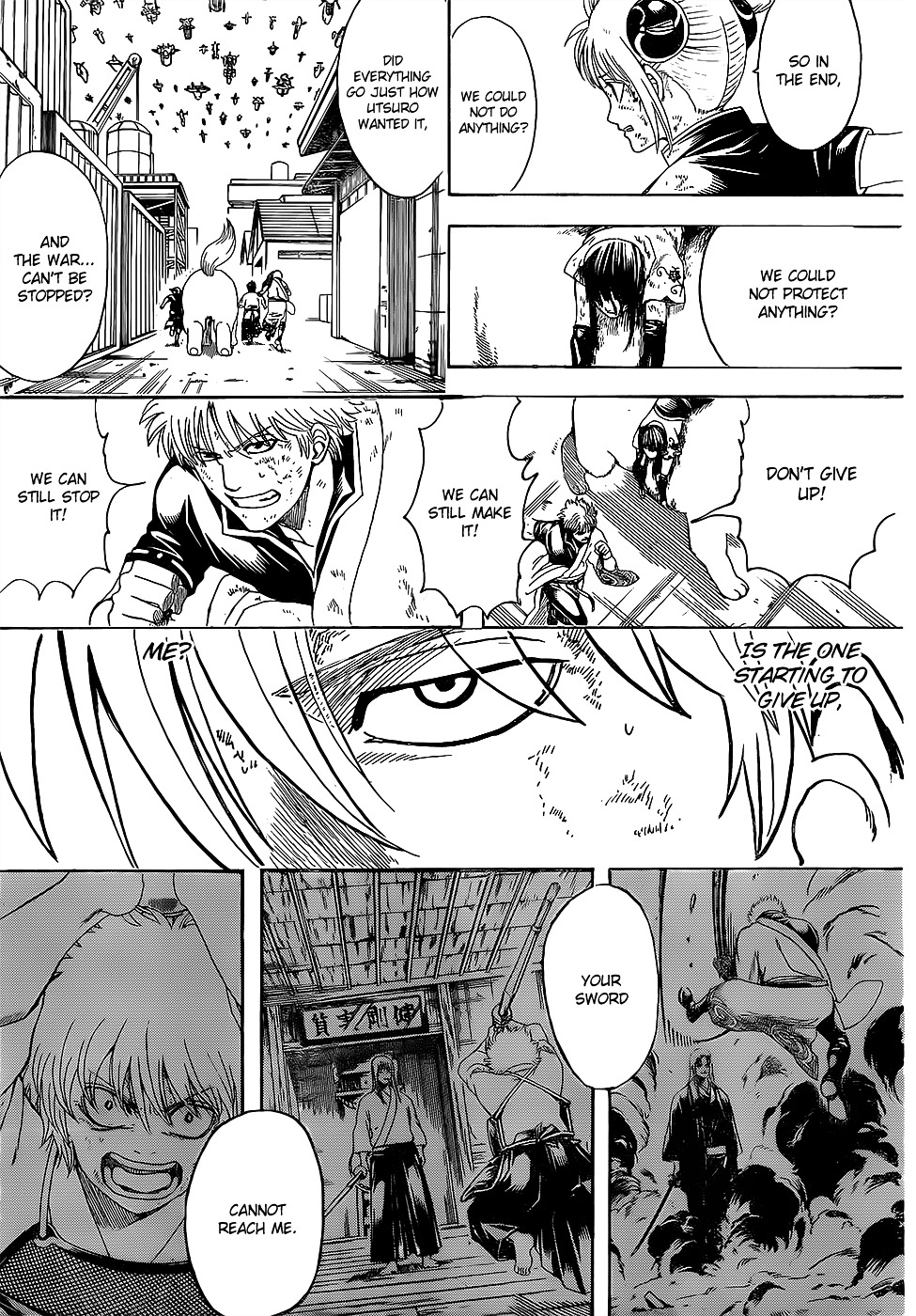 Gintama Chapter 605  Online Free Manga Read Image 12