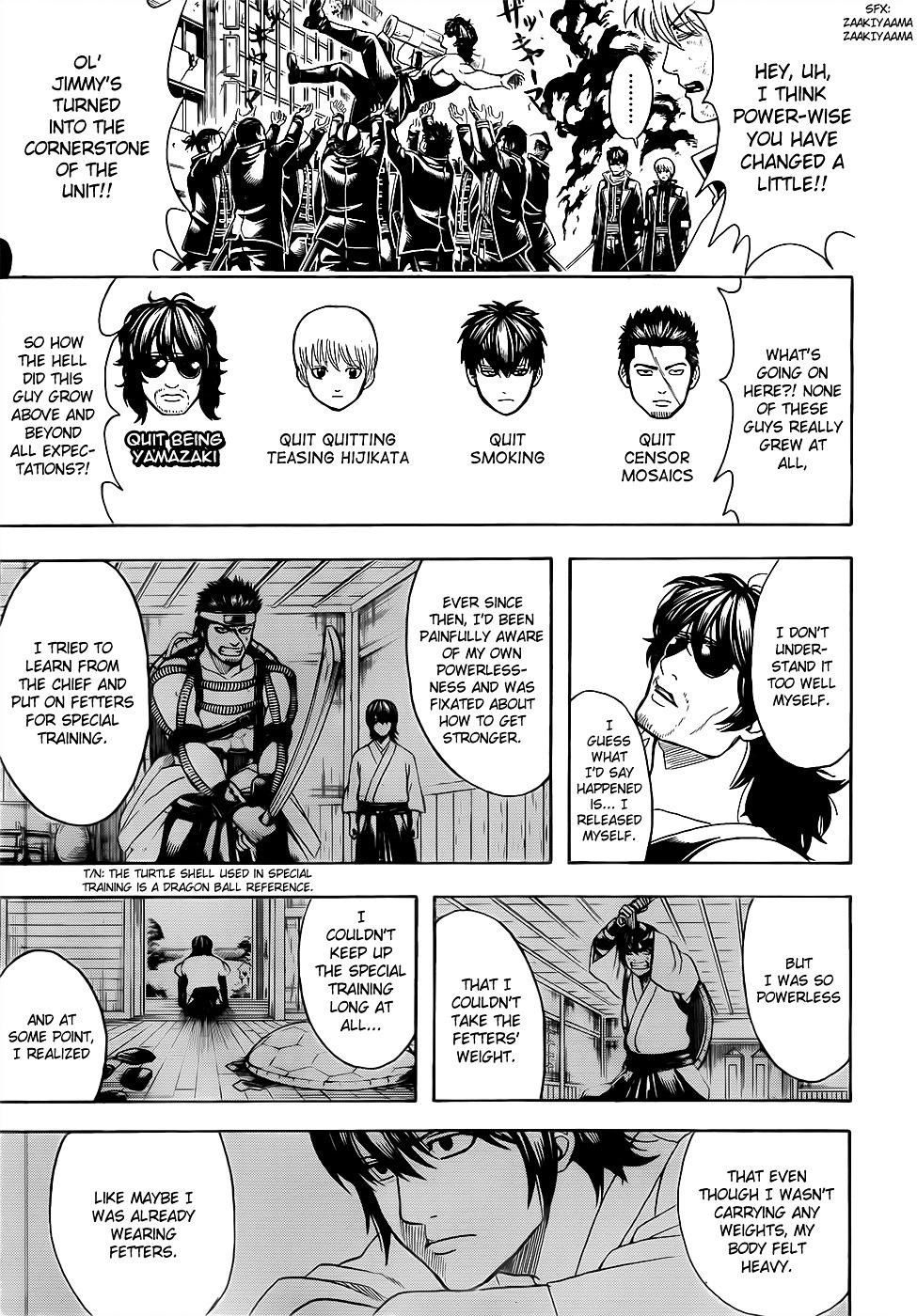 Gintama Chapter 607  Online Free Manga Read Image 3
