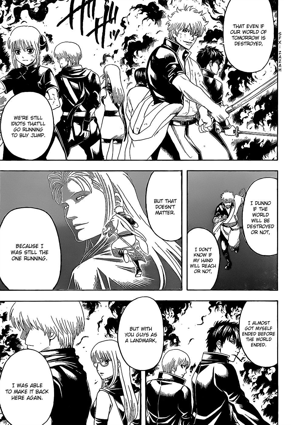 Gintama Chapter 608.2  Online Free Manga Read Image 9