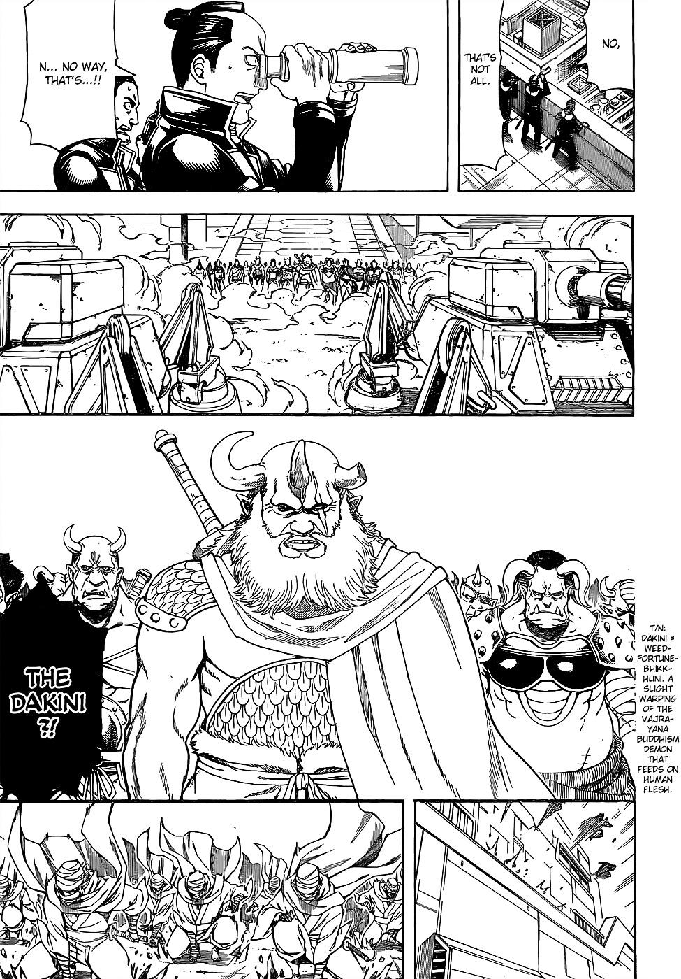 Gintama Chapter 608  Online Free Manga Read Image 14