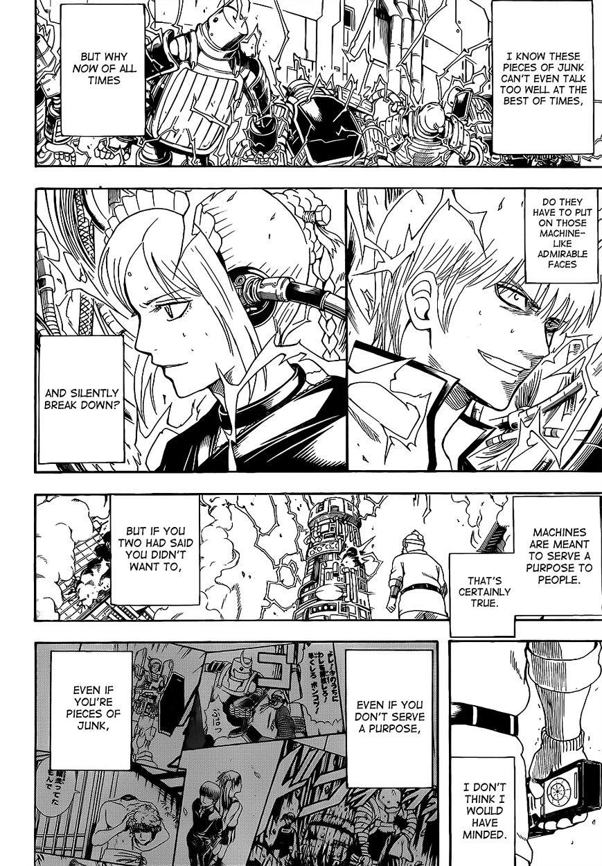 Gintama Chapter 610  Online Free Manga Read Image 11