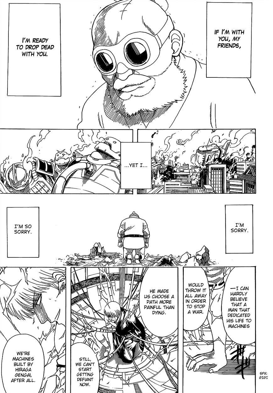 Gintama Chapter 610  Online Free Manga Read Image 12