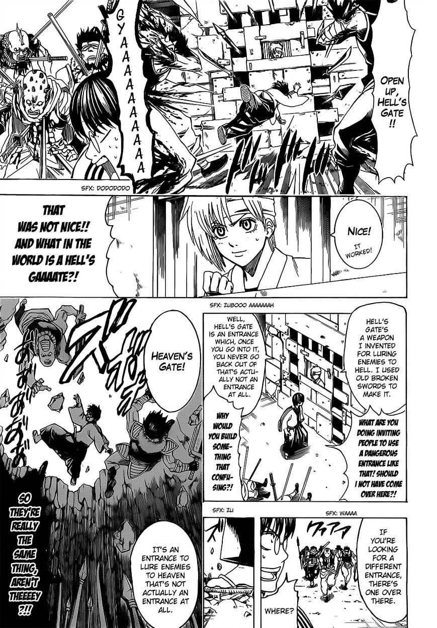 Gintama Chapter 615  Online Free Manga Read Image 9