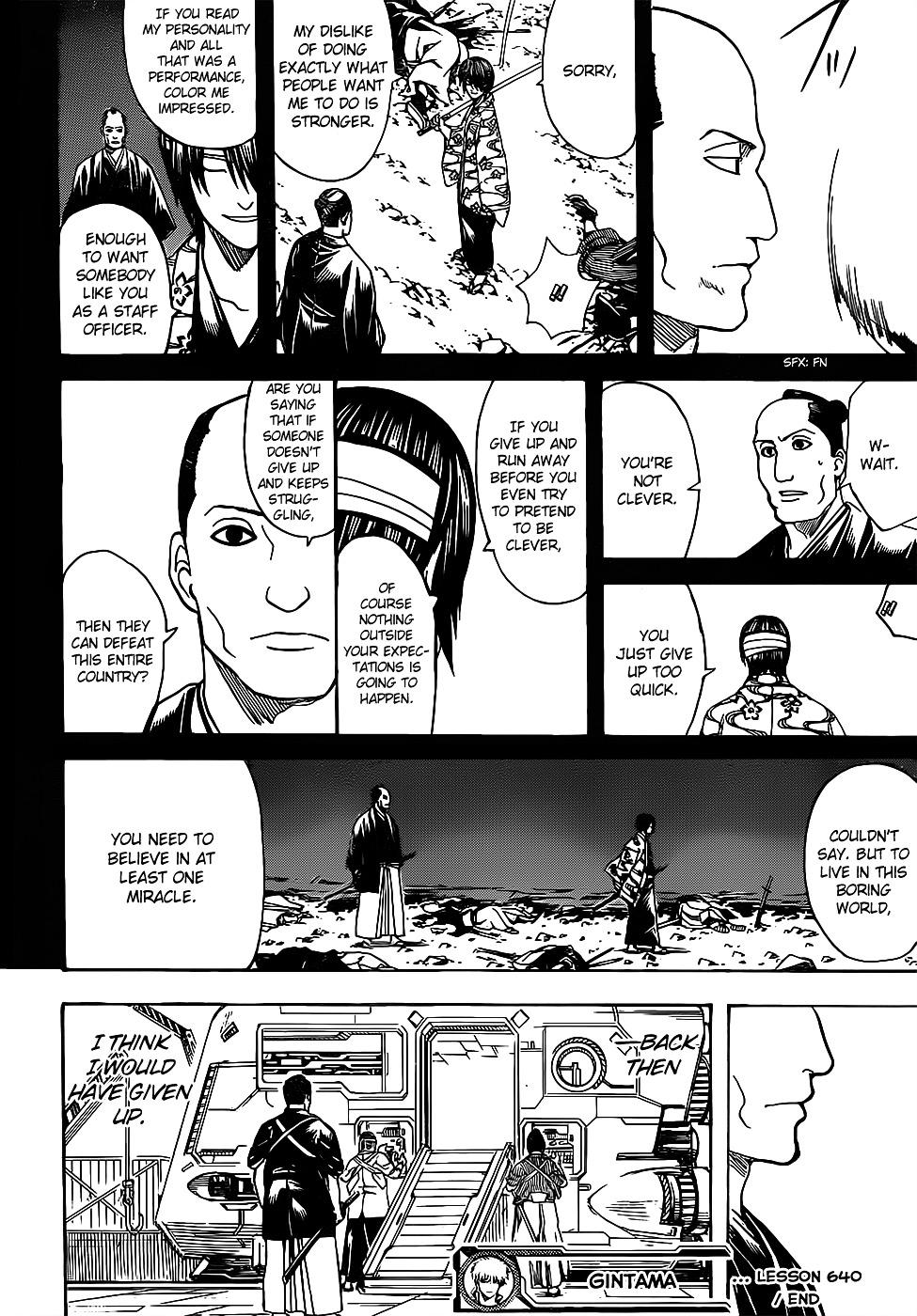 Gintama Chapter 640  Online Free Manga Read Image 18