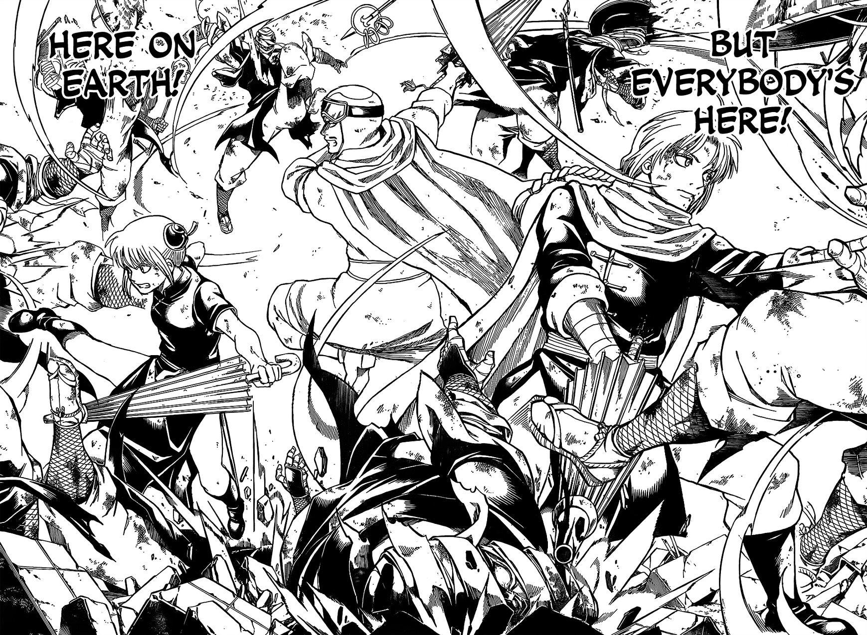 Gintama Chapter 652  Online Free Manga Read Image 16
