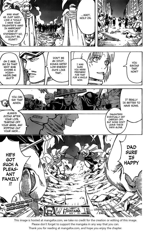Gintama Chapter 653  Online Free Manga Read Image 19