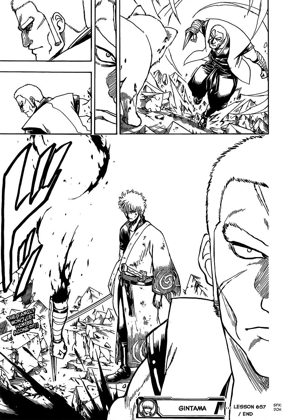 Gintama Chapter 657  Online Free Manga Read Image 18