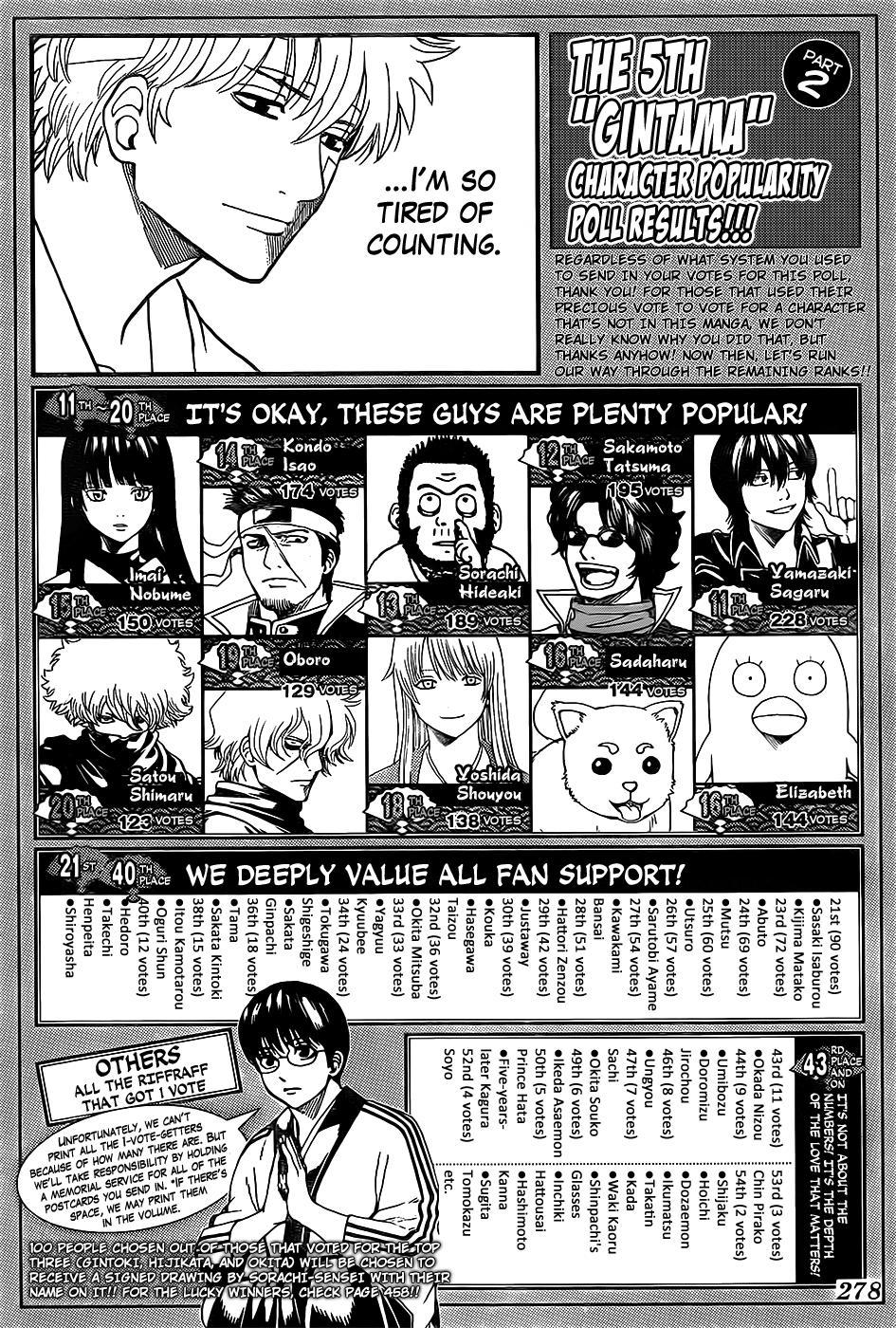 Gintama Chapter 657  Online Free Manga Read Image 20