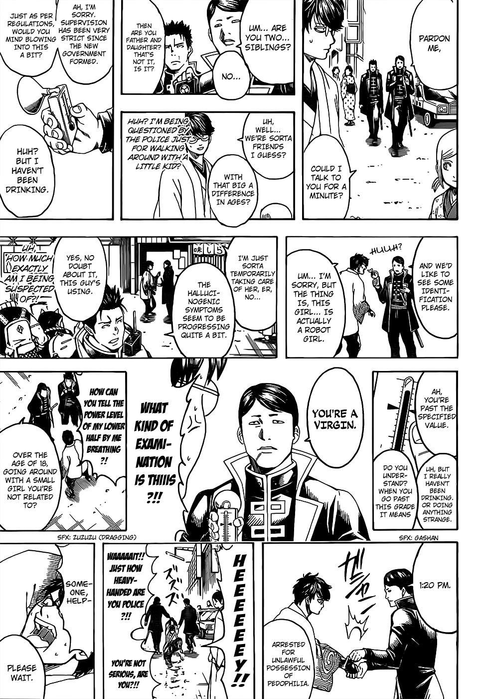 Gintama Chapter 671  Online Free Manga Read Image 11