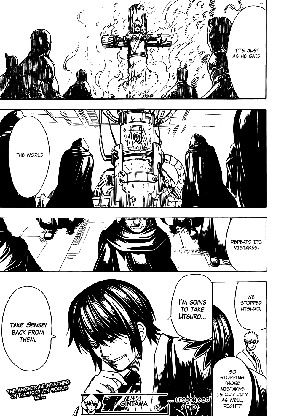 Gintama Chapter 680  Online Free Manga Read Image 19