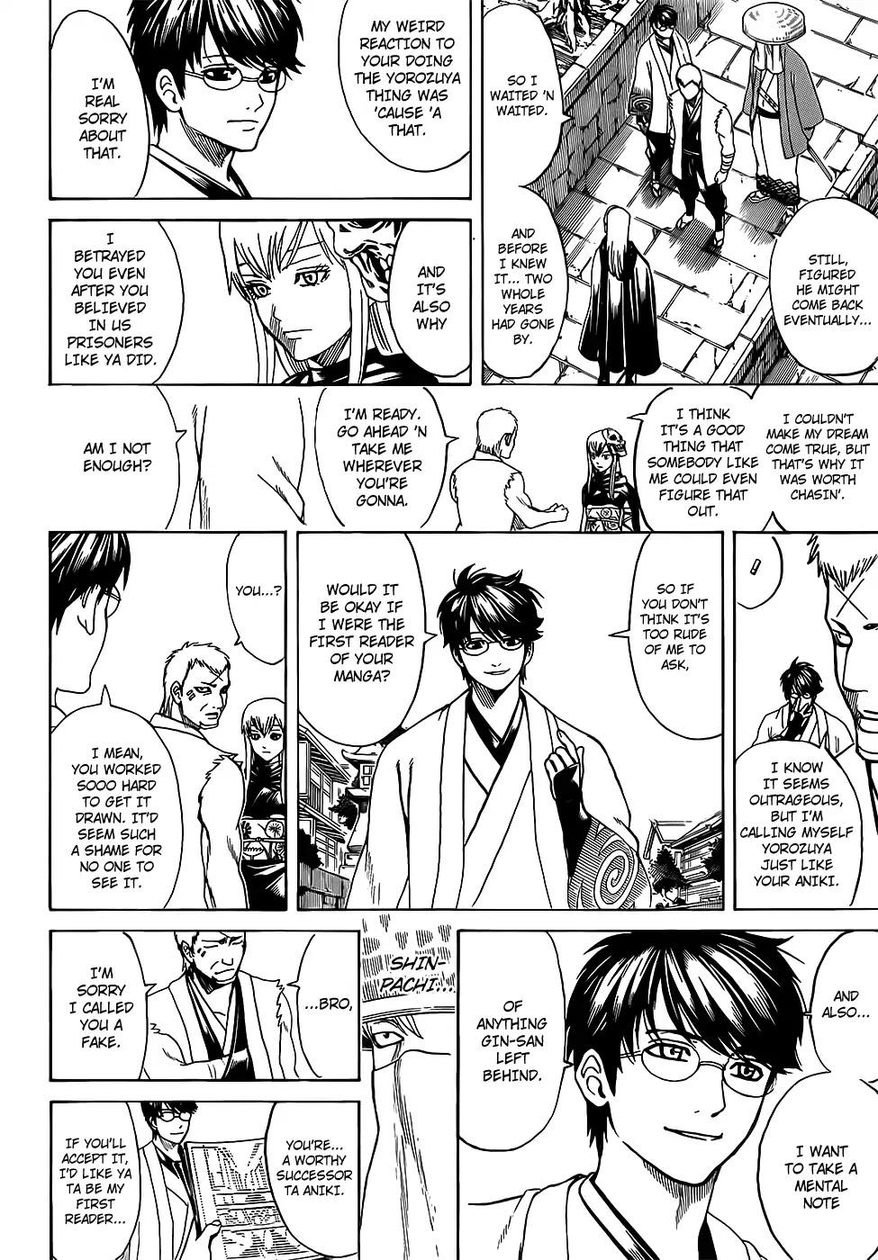 Gintama Chapter 688  Online Free Manga Read Image 8