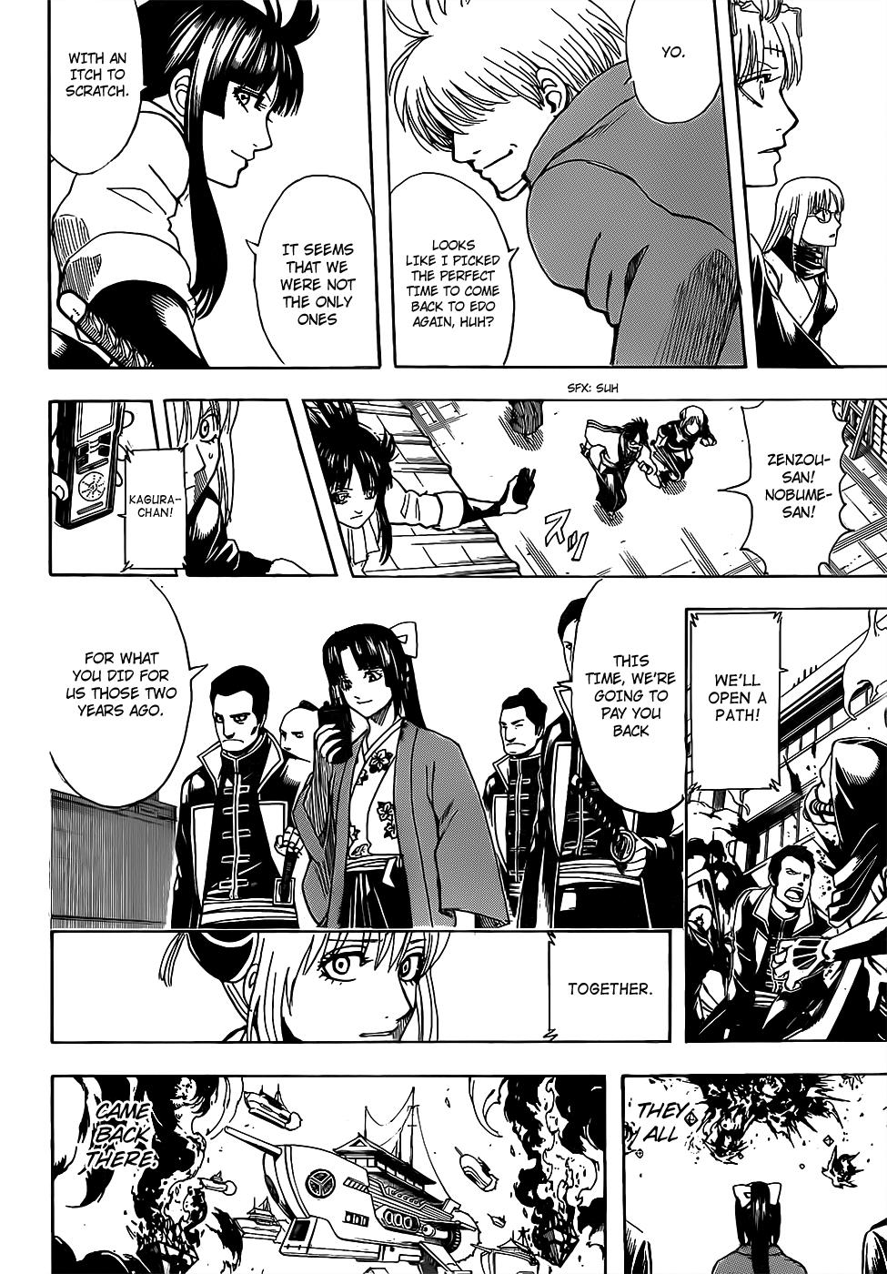 Gintama Chapter 698  Online Free Manga Read Image 12