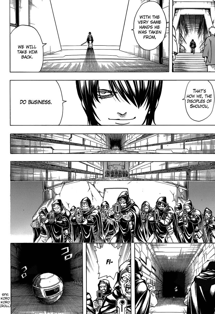 Gintama Chapter 699  Online Free Manga Read Image 10