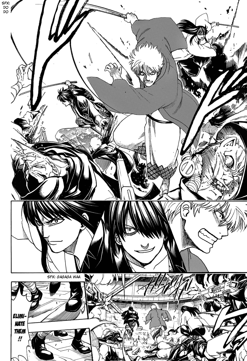 Gintama Chapter 699  Online Free Manga Read Image 12