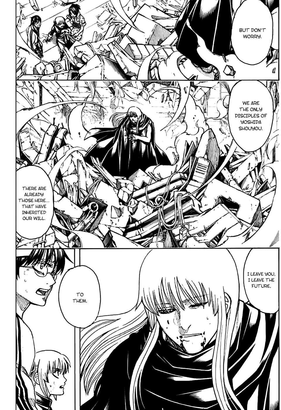 Gintama Chapter 703  Online Free Manga Read Image 17