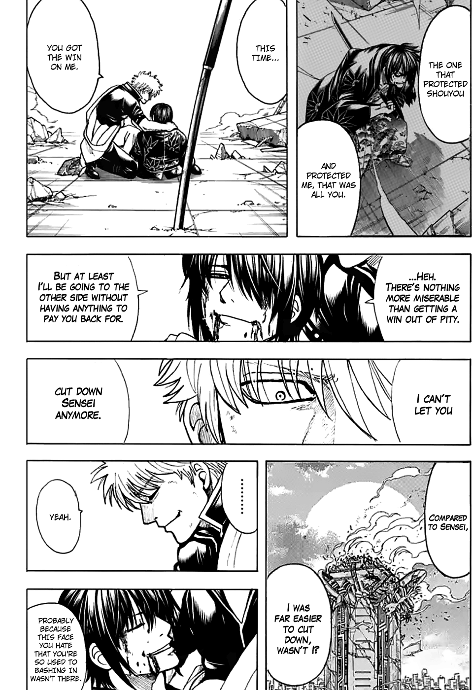 Gintama Chapter 703  Online Free Manga Read Image 36