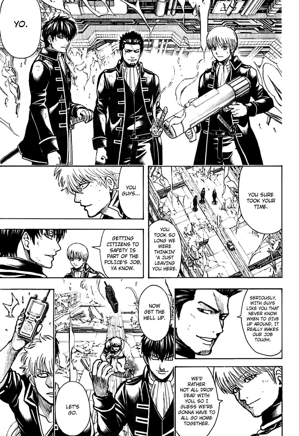 Gintama Chapter 704  Online Free Manga Read Image 11
