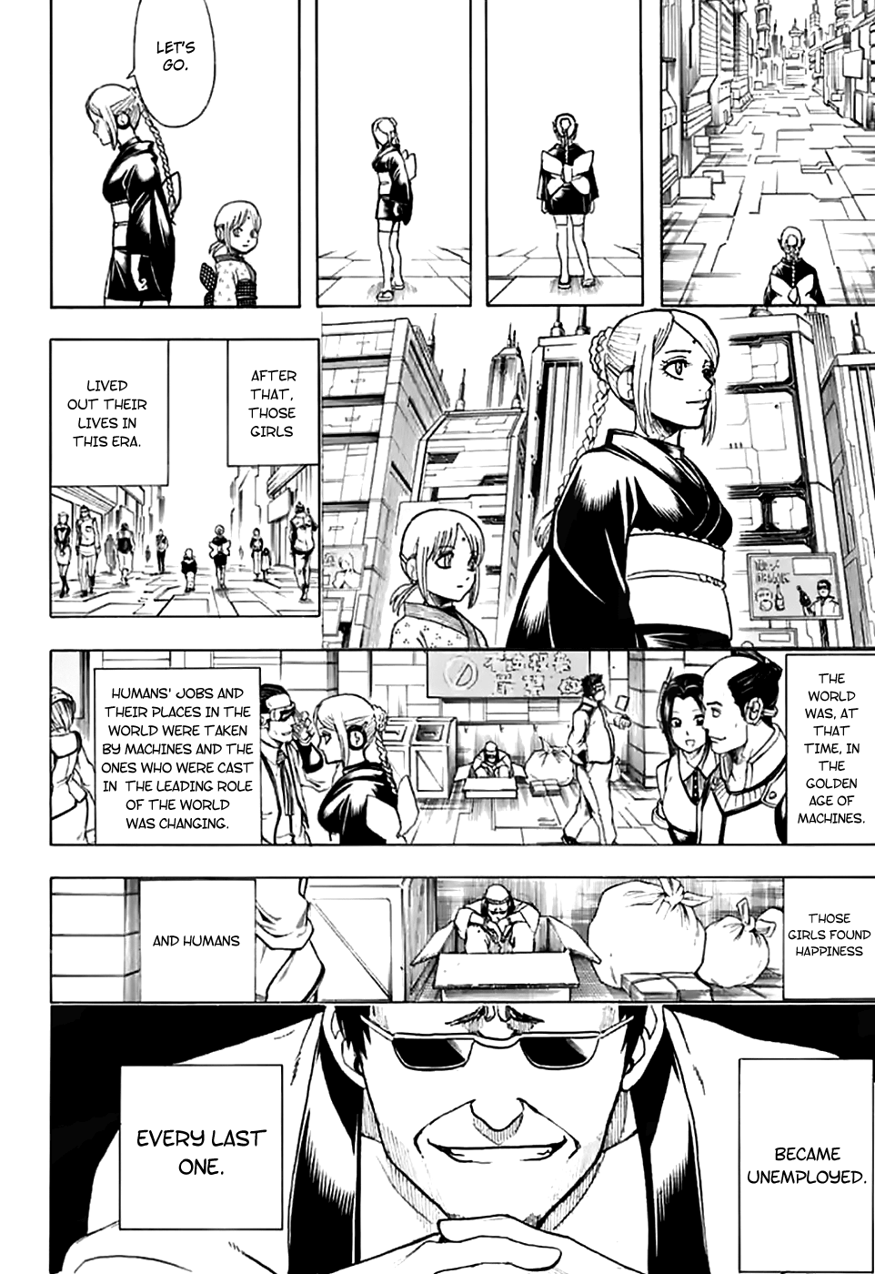 Gintama Chapter 704  Online Free Manga Read Image 56