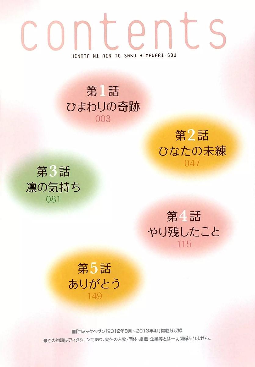 Hinata ni Rin to Saku Himawarisou Chapter 1  Online Free Manga Read Image 4
