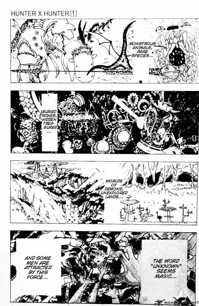 Hunter X Hunter Chapter 1  Online Free Manga Read Image 1